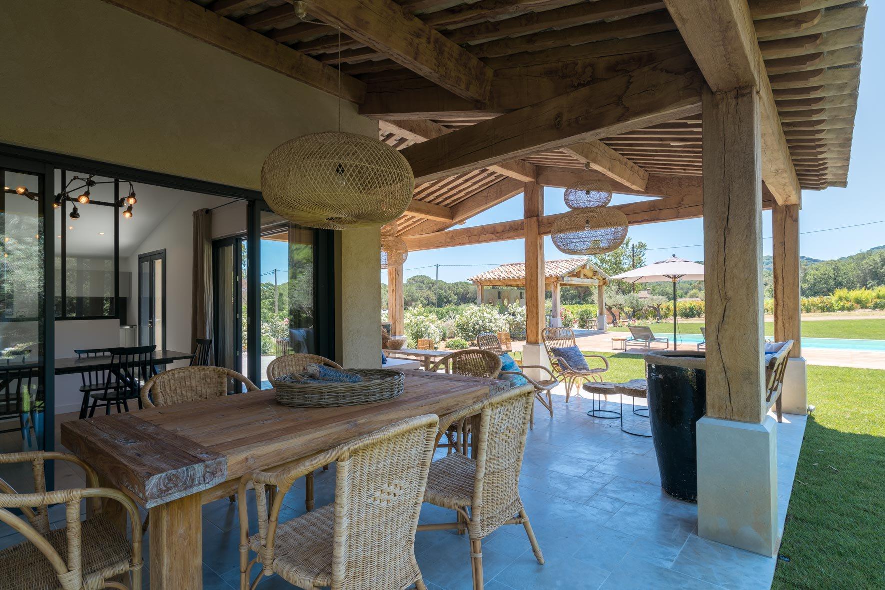 Ramatuelle – Ref P3081 – Villa neuve dans la campagne