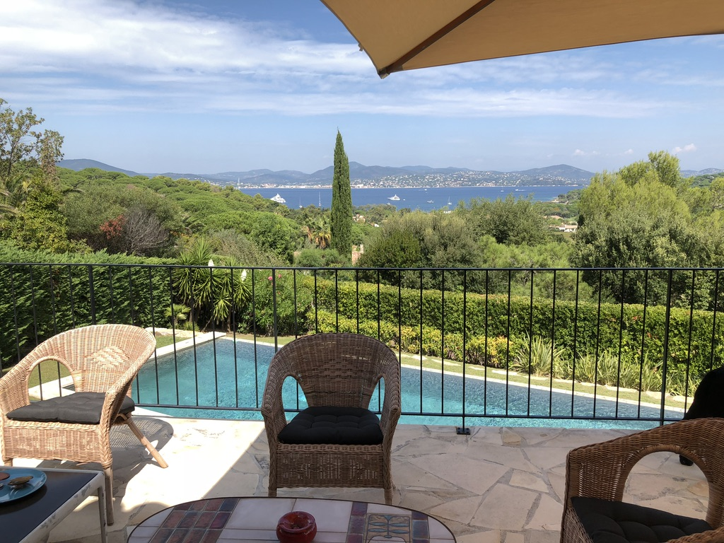 Saint-Tropez – Ref P3057 – In a dominant position with sea view