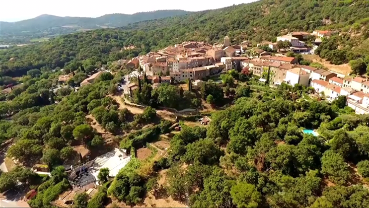 The neighborhoods of Ramatuelle